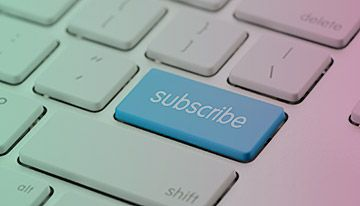 Subscribing for News from the Santhera Company